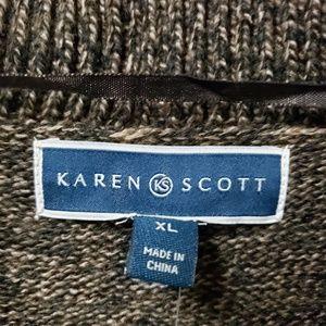Karen Scott Sweaters - Cocoon Cardigan